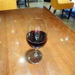 イルピノーロ カフェ - 赤ワイングラス720円