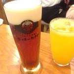 ロッキーカナイ - 2014/6/☆  アルトビール¥599 &すてきなみかん酒¥499