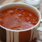 ココシカ - ポークビーンズ、ポーク、大豆、小豆がたっぷり、熱々