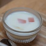 ココシカ - 牛乳プリン、フルーツがいいアクセント