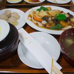 一芳亭 - 3-2)酢豚定食