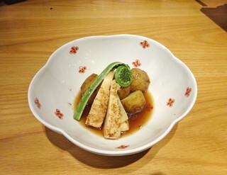 菜な 丸の内店 - 筍と新ジャガの炊き合わせ