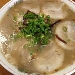田の久 - チャーシュー麺650円