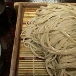 蕎麦 冷麦 嵯峨谷 渋谷店 - もりそば(280円)+大盛り(100円)