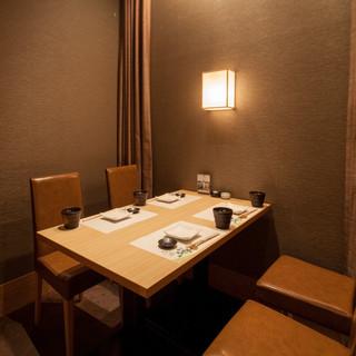 3~4名様席テーブル個室