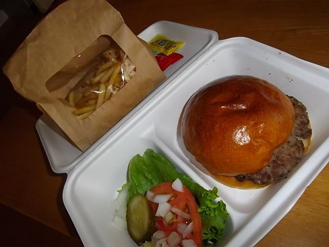 自家製ハンバーガー Nomad diner