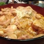 28354052 - 親子丼。鶏肉が柔らかい。