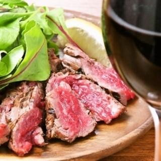熟成肉のタリアータ(ビフテキ)を堪能ください‼️