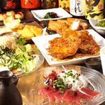 かんかん商店 - 旬の彩り朝顔コース 3980円