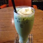タイドプールコーヒー - アイス抹茶ラテ