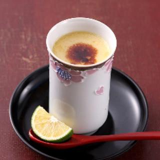 こだわり卵と鶏スープの絶妙な組合せ『ヴェルサイユの茶碗蒸し』