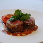 ラ カーブ ド ナガフサ - 料理写真:仔羊のロースト