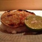 2836722 - こうばこ蟹の甲羅焼き・・。