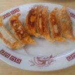 さのらーめん笑まる - 焼き餃子¥350