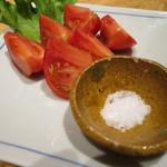 五郎八 - 八代産塩トマト(\600-)