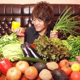 厳選!徳島直送の新鮮な野菜を使ったイタリアン♪