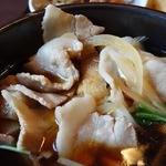 竹國 - 豚バラ肉は量も多く食べ応えがあります