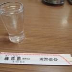 福仙樓 - 水とお箸