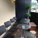 cafe&dining Gakuvuchi - ベランダ席のみ喫煙とペット同伴が可能です☆由布岳を目の前にお寛ぎ頂けます☆