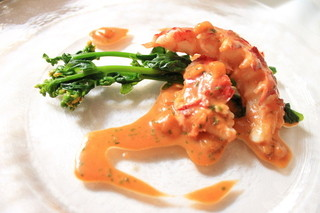 レストランパフューム - オマール海老のスパイスロースト