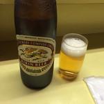 はやしや - 瓶ビール(500円)