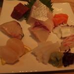 鯛吉 - 刺身定食その2:メインの刺身