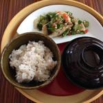 KINARI - 鮮魚のソテー オクラソース