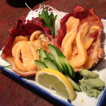 小料理荒井 - 料理写真:ほや(500円+税)2014年6月