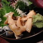 生つぶ貝(700円+税)2014年6月