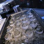 28369676 - コップは氷水で冷やした方がよいそう。