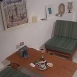 28369709 - コチラのソファーで寛ぎました♪