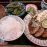 ロッキーハウス - 蓮根肉詰めです