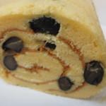 三つ舎 - 料理写真:ロールケーキの断面