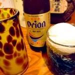 泡之音 - 自家製のコーヒー泡盛やシークヮーサー酒、オリオンは瓶です!