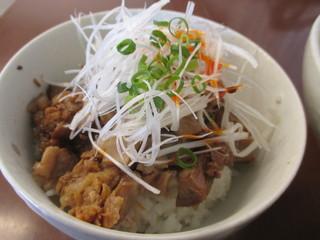 麺食堂 一真亭 - ねぎチャーシューご飯