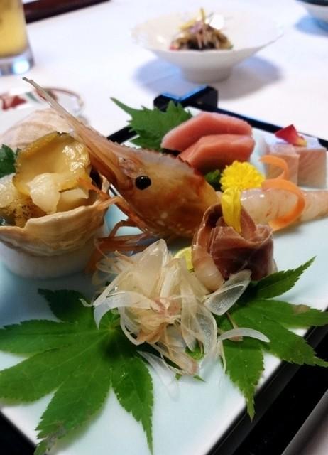 日本料理 北乃路 - お造り5点