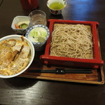 28374013 - カツ丼セット 1100円