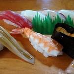 寿司割烹 俵寿し - 寿司は7貫ありました