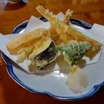 寿司割烹 俵寿し - 天ぷらも付けてもらいました