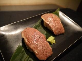 和牛焼肉 慶 - 和牛炙り刺し