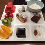 """28377303 - デザートもたくさん。                       食べちゃう〜꒰ ˃̶◟  ॢ˂̶ ꒱♡"""""""