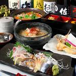 酒喜喰楽 丸屋 - 料理写真:コースの一例です。