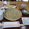 Kakunodatesoba - 料理写真:あゆ天そば