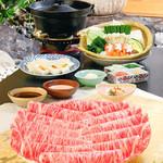 木曽路 - しゃぶしゃぶ 和牛特選霜降肉