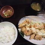 28379519 - 国産鶏のチキン南蛮定食(420円)