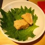 28380514 - 豆腐の何か・・・