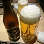 28381693 - ビールはジョッキとグラスと瓶があります
