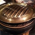 炭火焼肉とうがらし - 鉄板