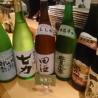 """あの希少な日本酒""""田酒""""を常時入荷"""