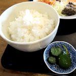 田中屋 - ご飯とお新香